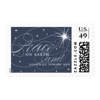Peace and Goodwill Holiday Postage