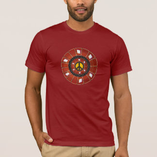 Peace and Guitar Frets T-Shirt