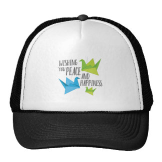 Peace and Happiness Trucker Hat