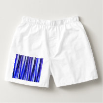 Peace and Harmony Striped Abstract Pattern Boxers