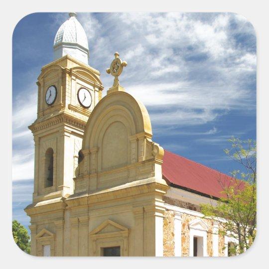 Peace and joy  Abbey Church New Norcia Australia Square Sticker