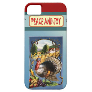 Peace and joy at Thanksgiving iPhone SE/5/5s Case