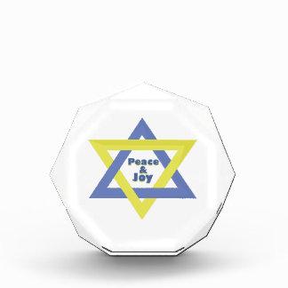Peace and Joy Acrylic Award