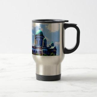 peace and joy basilica sky cloud travel mug