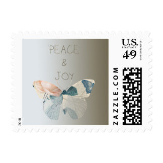 Peace and Joy Butterfly Postage