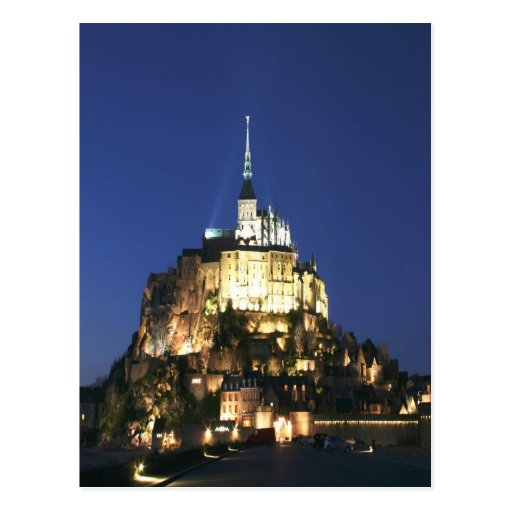 Peace and joy Mont Saint Michel Normandy Postcard