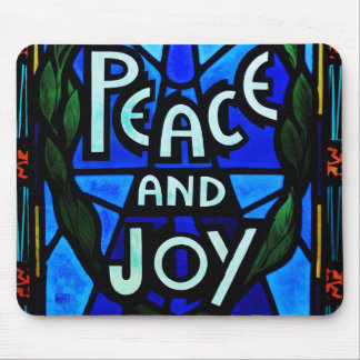 Peace And Joy Mouse Pad