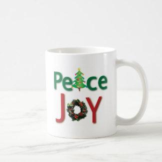 Peace and Joy Mug