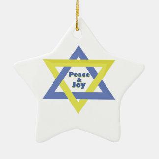 Peace and Joy Ornaments