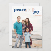 Peace and Joy (P) Holiday Card & Year in Review