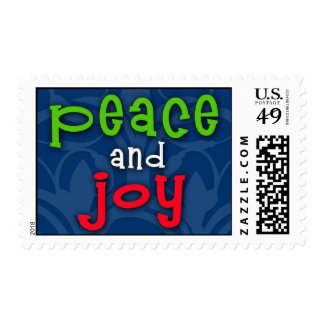 Peace and Joy Postage