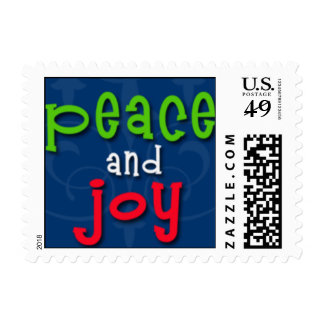 Peace and Joy Stamps