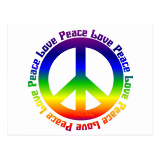 Peace and Love all around Postcards
