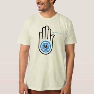 Peace and Love, Ashima, non-violence, Veganism, T-Shirt