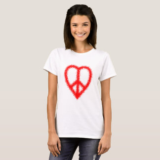 peace and love (blurred look) T-Shirt