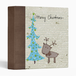 peace and love christmas doodle binder