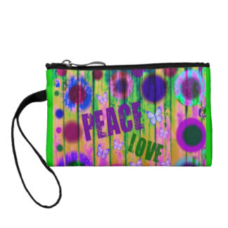 Peace and Love Coin Purse
