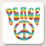 Peace and Love! Drink Coasters