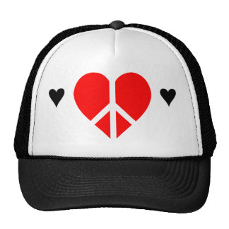 Peace and LOVE hat