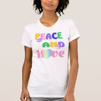 Peace and Love Hippie T-Shirt