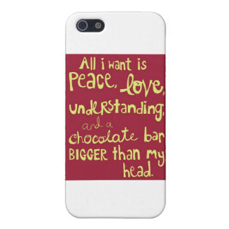 Peace and Love iPhone SE/5/5s Case
