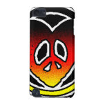 Peace and Love iPod Touch 5G Covers