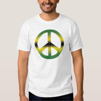 Peace and Love Jamaican CND. Make Love Not War. T-shirt
