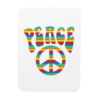 Peace and Love! Magnet