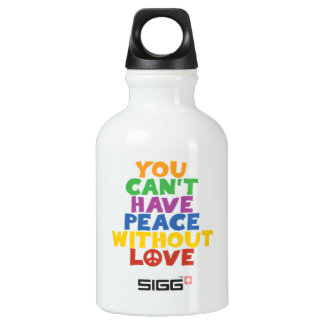 Peace and Love SIGG Traveler 0.3L Water Bottle