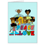 Peace and Love T-shirts and Gifts Card