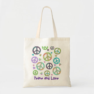 Peace and Love Tote