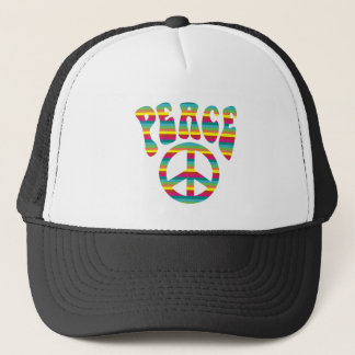 Peace and Love! Trucker Hat