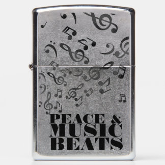 Peace and Music Zippo Lighter