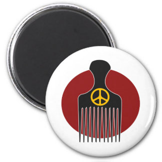 Peace and Nappyness Magnet