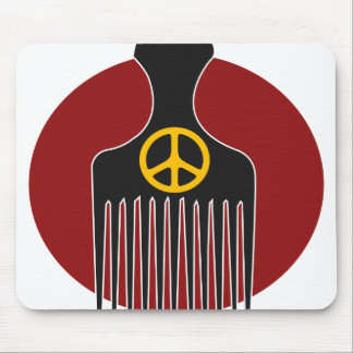 Peace and Nappyness Mousepad