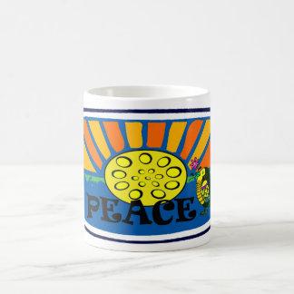 Peace and Pan Classic White Coffee Mug