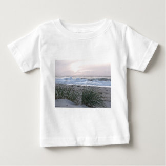 Peace and Quie tBeach Baby T-Shirt