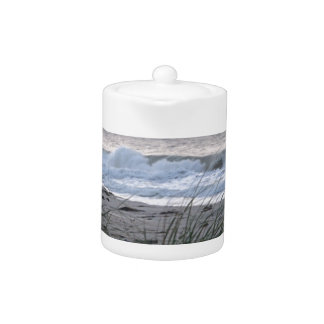 Peace and Quiet Beach Teapot