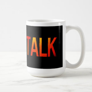 Peace and Quiet Classic White Coffee Mug