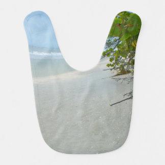 Peace And Quiet On Sanibel Island Baby Bib