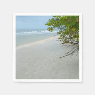 Peace And Quiet On Sanibel Island Napkin