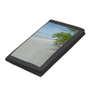 Peace And Quiet On Sanibel Island Trifold Wallets