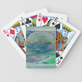 Peace and Relaxation by Amelia Carrie Bicycle Playing Cards