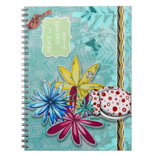 Peace and Serenity are Within Notebook