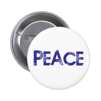 Peace And Trees Button