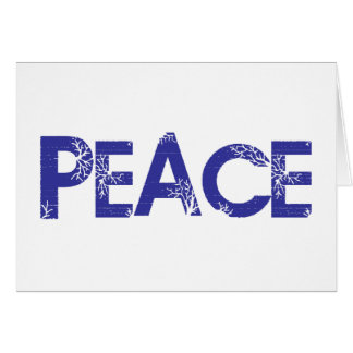 Peace And Trees Card