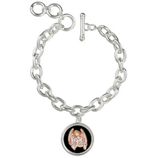 Peace Angel Charm Bracelet