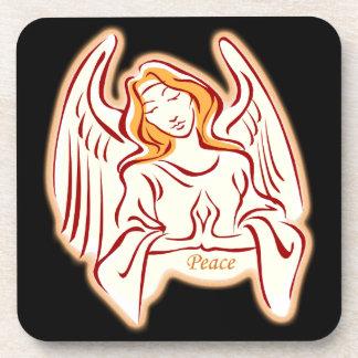 Peace Angel Coasters