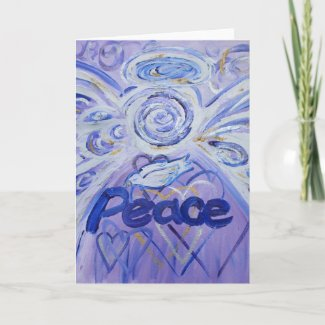 Peace Angel Greeting Card