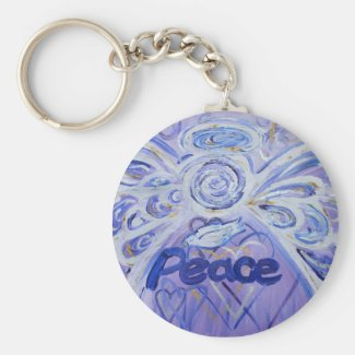 Peace Angel Keychain